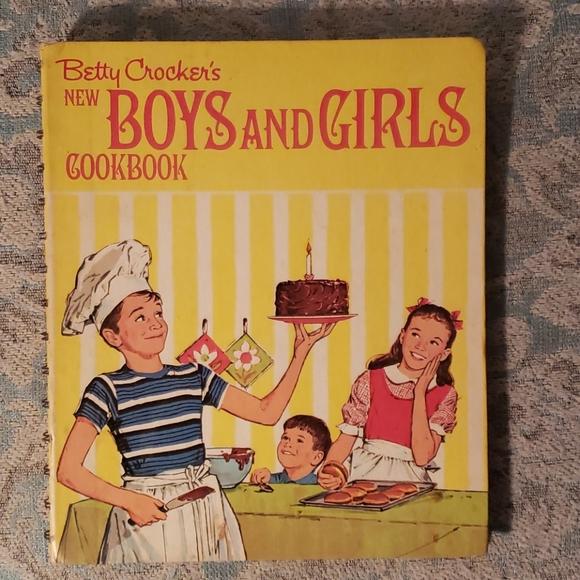 Vintage: Betty Crocker's kids cookbook